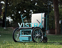 Vistra - The vertically gifted wheelchair