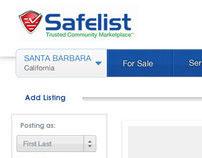 Safelist - Web Commerce App