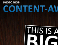Photoshop CS5 Content-Aware Fill