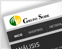 Web Site » Grupo SODE