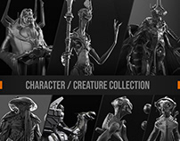 character / creature collection