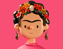 Toy Faces Library Promo Video | 3D Illustrations