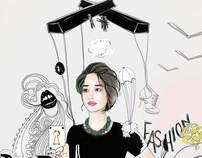 Illustration: Fashion Blog Header