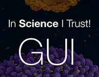 In Science I Trust! GUI for web application.