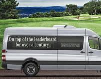 Mercedes-Benz Sprinter PGA Senior Tour graphics