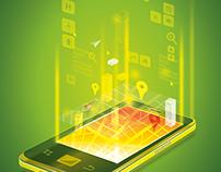 Illustrations - Mobile app series