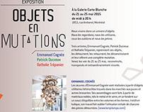 Galerie Carte Blanche / Exposition du 20 au 25 mai 2015