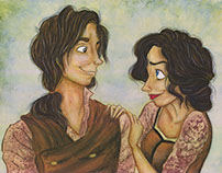 Amelia & James...