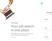 OneApp - Your job search in one place