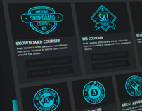 Badge Graphics for Peak Leaders
