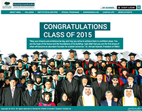 """Hamad Bin Khalifa University"" HBKU Website"