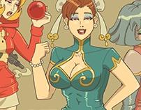 Capcom Fighting Tribute Artbook (2015-UDON Comics)