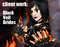 Client work : Black Veil Brides 2011