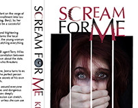 'Scream For Me' Book Cover & Poster Design