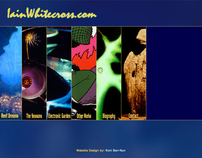 Iain Whitecross - artist portfolio site
