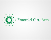 Emerald City Arts Branding
