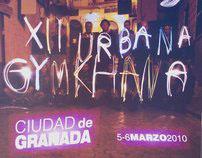"Cartel ""XII Gimkhana Urbana"" Ciudad de Granada"