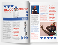 Graphic Design- Music Magazine Layout