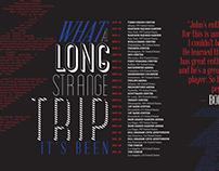 Dead & Company Magazine Spread Concept