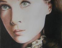 Old movie stars: Vivien Leigh as Scarlett O'Hara