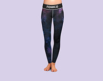 Women Leggings Branding Design