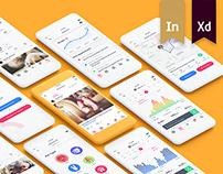 Pet Lover - Pet Social Network & Health Tracking UI Kit