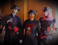Steam Powered Giraffe meet and greet!