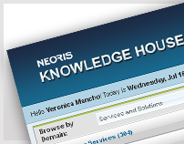 Intranet App » Knowledge House / NEORIS