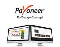 Payoneer - Dashboard Re-Design Concept