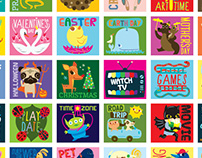 1001 Awesome Stickers for Girls