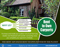 Rent to Own Carports Near My Area   888.368.0375   shed