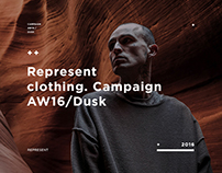 REPRESENT. Campaign AW16 / DUSK