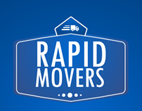 Rapid Movers Business Card