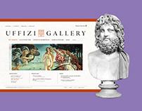 Usability for Art's Sake - Uffizi Gallery Website