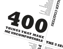 400 Things That Make Me Uncomfortable