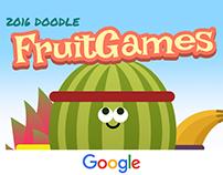 Google Doodle Fruit Games