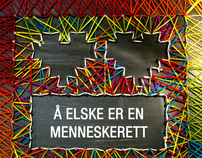 Poster for Amnesty International Norway