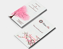 Japan style for business card