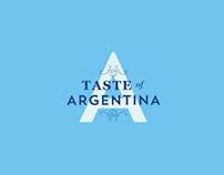 A Taste of Argentina - wine tasting event invitation