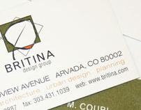 Britina Identity and Web Redesign