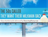 Doorstep Dairy Billboards