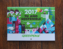 GREENPEACE / Calendar / AOI SHORTLISTED