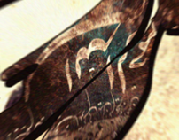Calligraphy fatima