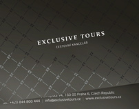Exclusive Tours - boarding ticket sleeve