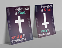 Helvetica is God/Satan