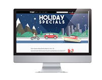 Holiday 2016 Landing Page