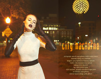 City Nocturne Fashion Editorial