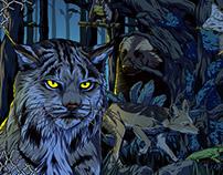 《夜行动物园》视觉设计