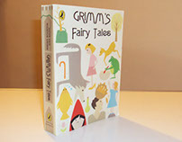 Grimm's Fairy Tales - Book cover design
