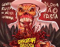 Capa para o novo álbum da Gangrena Gasosa